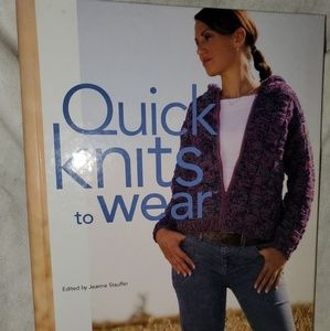 Quick Knits to wear book